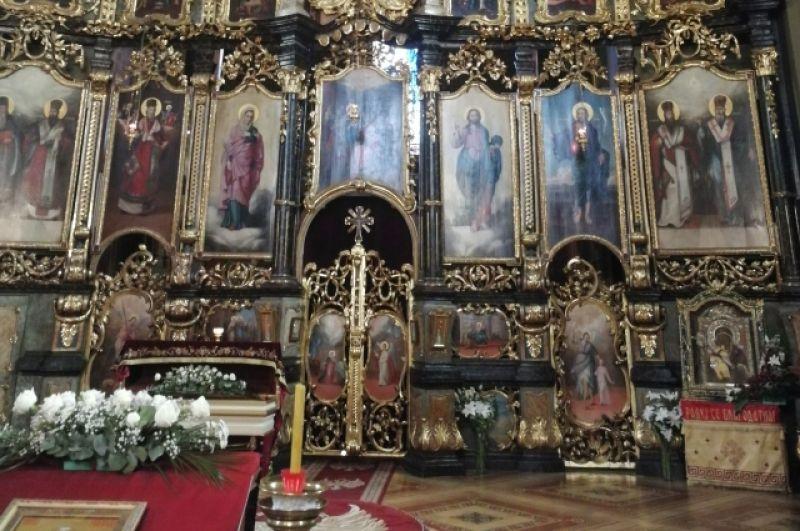 Убранство собора святого Николая.