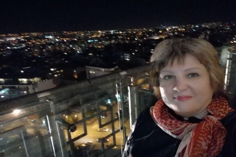 С высоты храма святого Саввы Белград прекрасен.