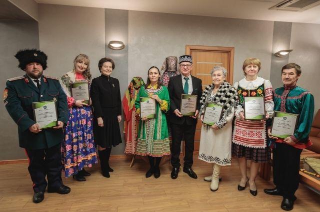 Лауреаты с главой региона