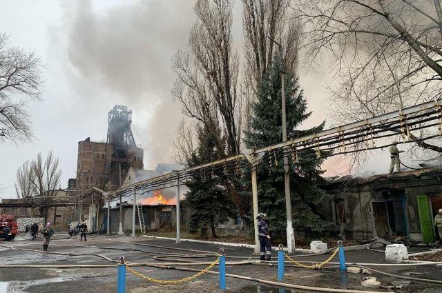 В Донецкой области произошел пожар на шахте «Северная»: подробности