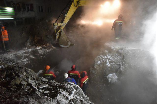Отключение теплоснабжения произошло в Северо-Чемском жилмассиве