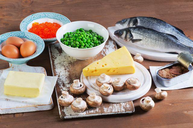 Эффективно восполнить нехватку витамина можно с помощью продуктов питания.