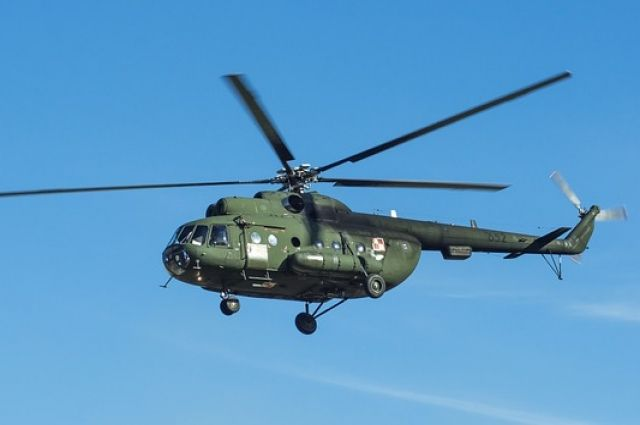 Зимой прошлого года на Таймыре упал вертолёт МИ-8Т.