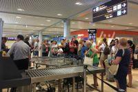 Из аэропорта «Борисполь» не могут улететь сотни пассажиров