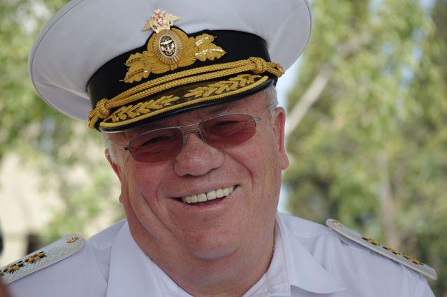 Адмирал Владимир Комоедов.
