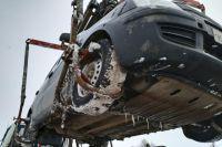 Автомобиль тюменки приняли за брошенный и похитили на эвакуаторе