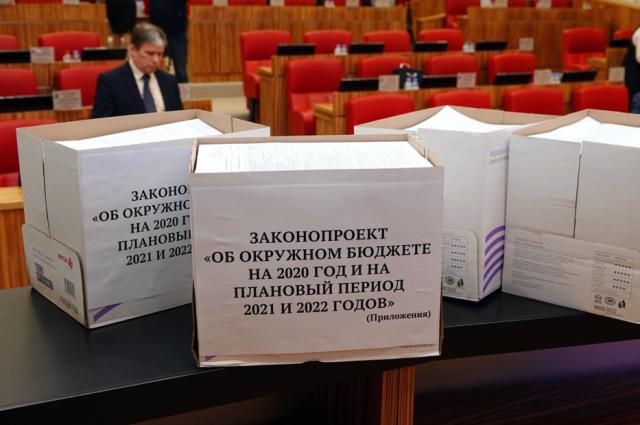 В ЯНАО приняли региональный бюджет на 2020-2022 годы