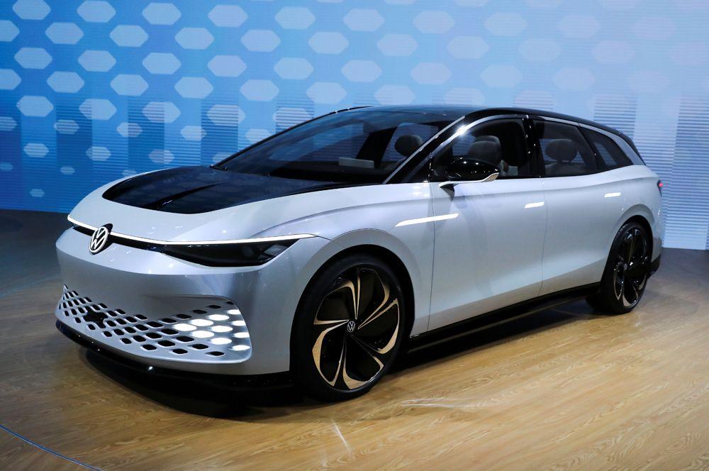 Концепт-кар Volkswagen I.D. Space Vizzion.