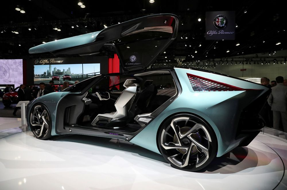 Электрический концепт-кар LF-30 Electrified.