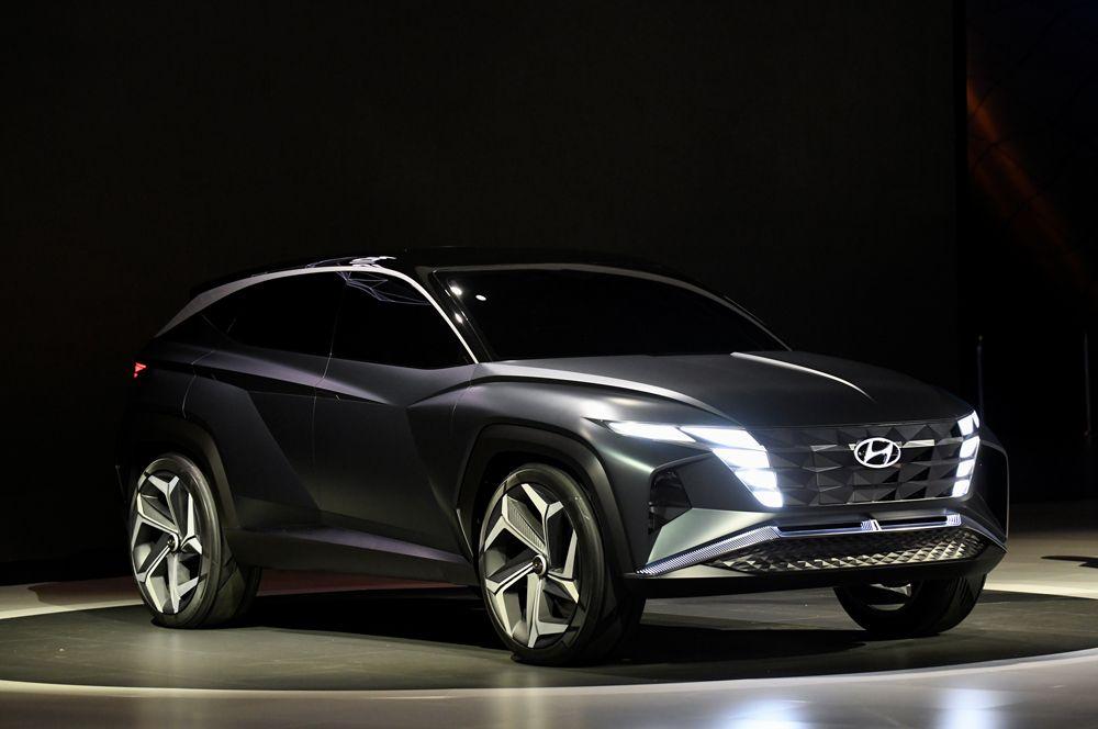 Гибридный концепт Hyundai Vision T.