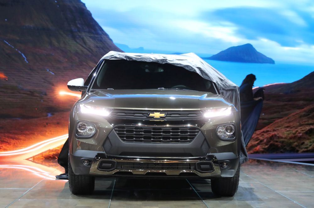 Chevrolet Trailblazer Activ 2021.