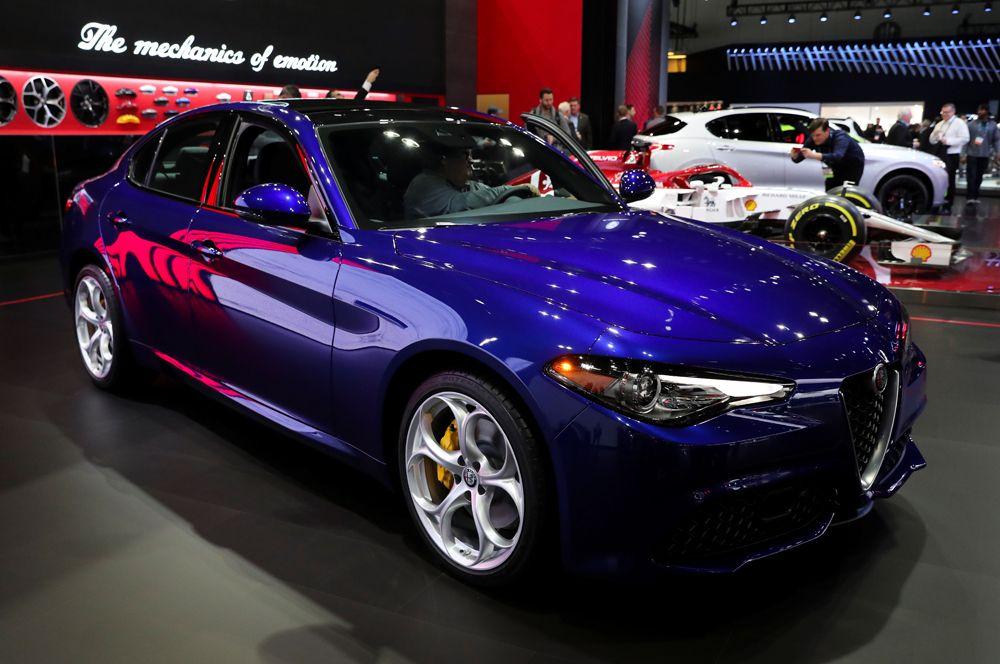 Обновленный Alfa Romeo Giulia.