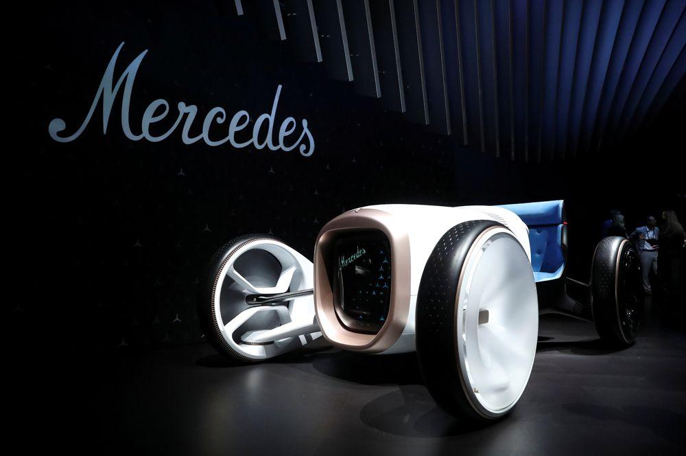Концепт родстера в ретростиле Mercedes Simplex.