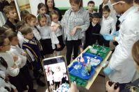 Химические опыты произвели на детей большое впечатление