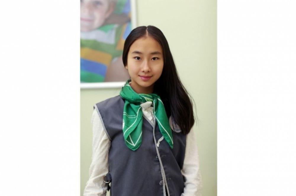 Тань София, 12 лет
