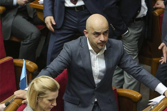 Депутат Верховной рады Мустафа Найем.