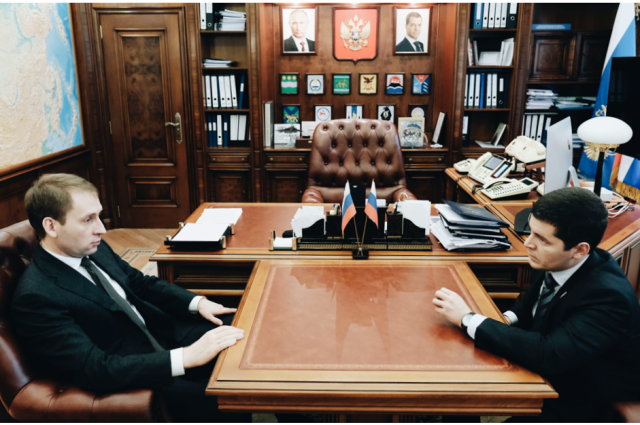Глава ЯНАО встретился с министром по развитию Дальнего Востока и Арктики