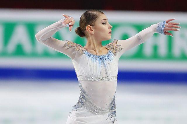 Русская  фигуристка Алена Косторная установила новый мировой рекорд