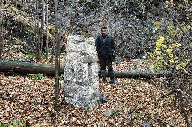 Языческое святилище высотой всего полтора метра