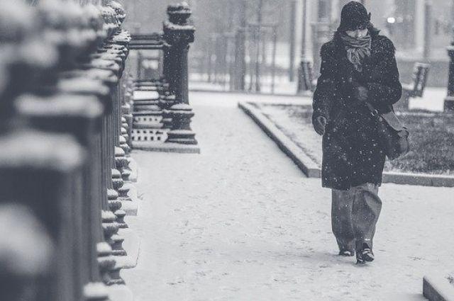 Только во второй половине воскресенья местами возможен небольшой снегопад, а обильных осадков не ожидается.