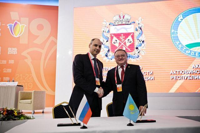 Оренбургский форум состоялся как одна из ведущих площадок евразийской интеграции, о том, что есть сложившиеся отношения между государствами и регионами.