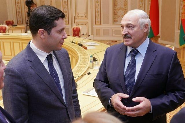 Антон Алиханов приехал на встречу с Александром Лукашенко