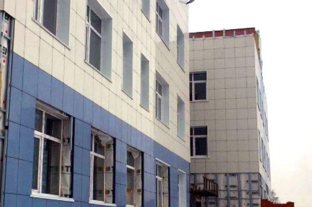 Строительство объекта проводится по нацпроекту «Демография».