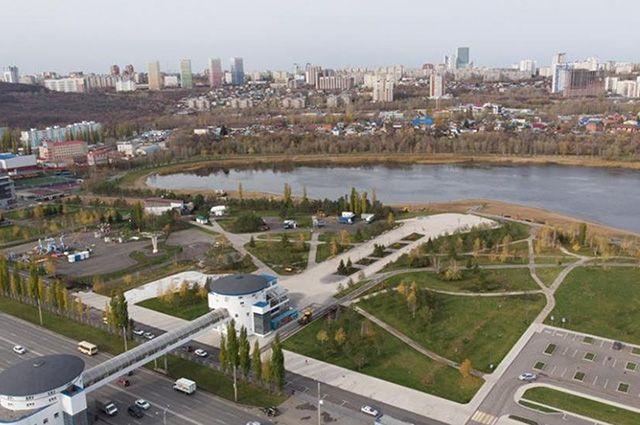 Территория вокруг озера станет местом притяжения горожан.