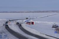 Через Обь в ЯНАО откроется вторая полоса ледовой переправы