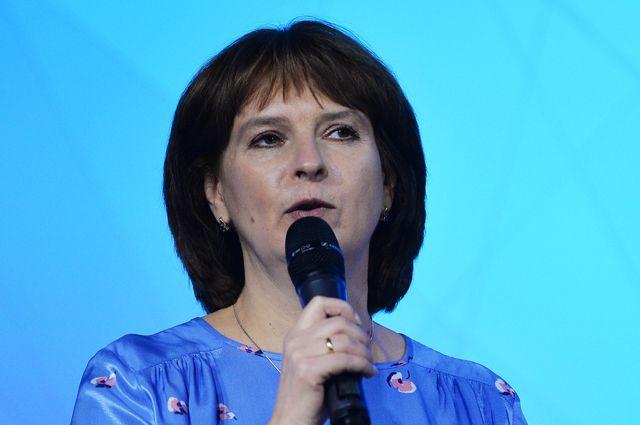 Легкоатлетка и спортивный комментатор Ольга Богословская.
