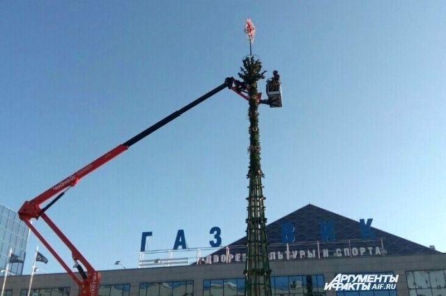 Оренбург к Новому году украсят более 200 елок