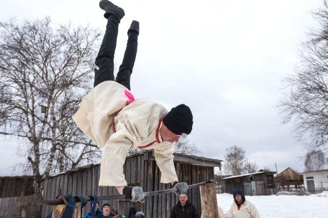 В посёлке Уфимском жителей приобщают к ЗОЖ.