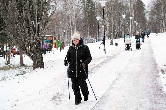 В Лысьве, в «Детском парке», – три зоны отдыха. Одна из них – для активного отдыха и занятий спортом.