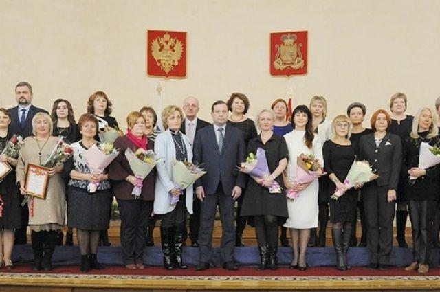 Почти три десятка медиков региона получили награды за профессионализм.