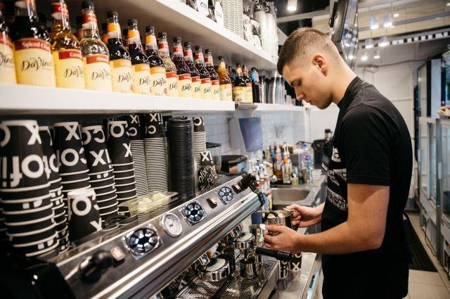 Cofix отличается приемлемыми ценами и вкусным кофе.
