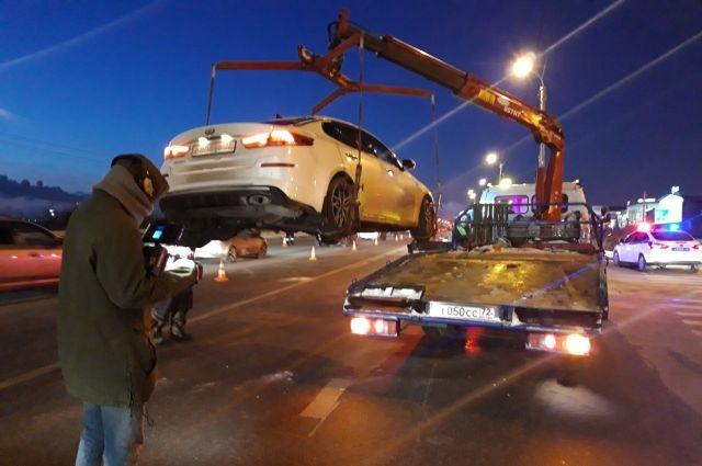 В ходе рейда тюменские автоинспекторы задержали пьяного водителя