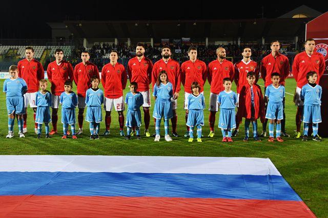 Сборная России по футболу на чемпионате Европы-2020.