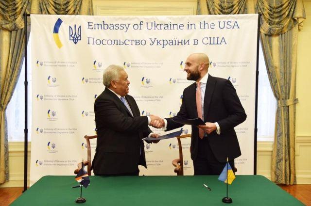 Украина подписала соглашение о безвизе с Маршалловыми островами