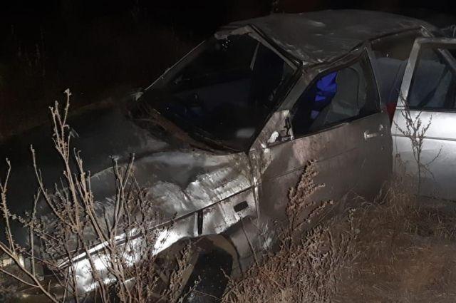 В Бузулукском районе в ДТП погиб водитель без прав.