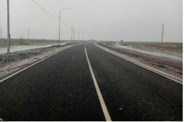 Дорога в обход поселка Ростоши длиной 4,7 км построена в рамках национального проекта.