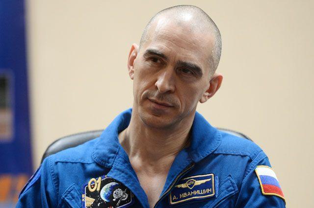 Космонавт Анатолий Иванишин.