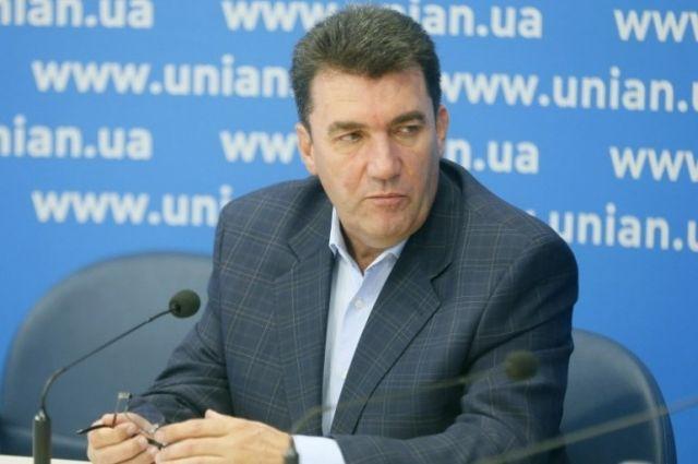 Данилов заявил, что у СНБО есть пять сценариев реинтеграции Донбасса