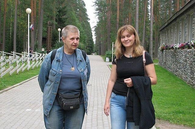 Мария Семёнова и Анна Гурова.