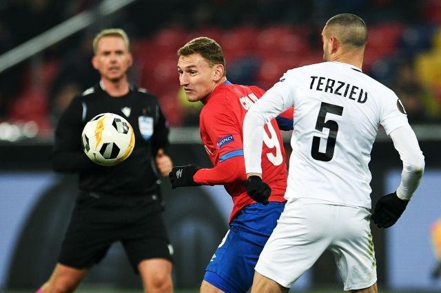 ЦСКА сыграл вничью с«Лудогорцем» ивылетел изЛиги Европы
