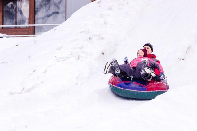 В эти выходные открывается ice park.