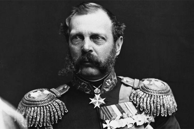 Портрет императора Александра II работы неизвестного художника.