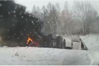 На трассе Кемерово-Новосибирск случилась страшная авария.