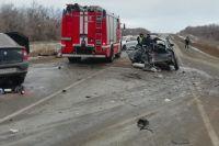 Водитель «Лады-Приоры» погиб на месте ДТП.