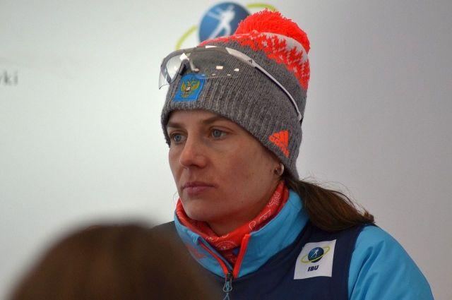 Тюменская биатлонистка Ирина Старых заняла второе место на этапе Кубка IBU