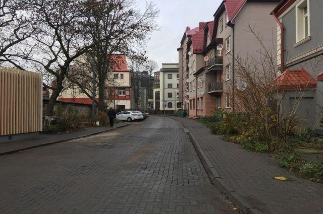 В Зеленоградске станет на одну пешеходную зону больше